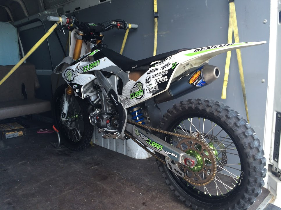 the x-games bike that by God's grace I get to ride.