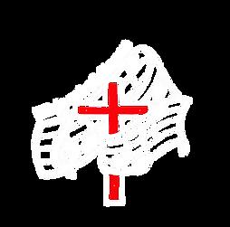 logo trasp  original ny invert red cross