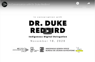 Dr. Duke Redbird   Indigenous Digital Delegation