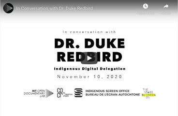 Dr. Duke Redbird | Indigenous Digital Delegation