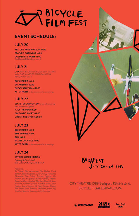 Bicycle Film Fest Poster