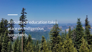 Indigenous Studies and Outdoor Education