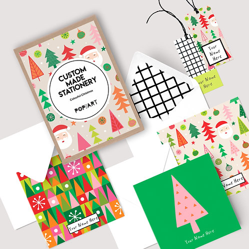 Gift Cards & Tags | Colourful Christmas