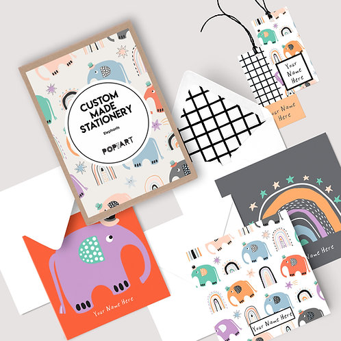 Gift Cards & Tags | Elephants