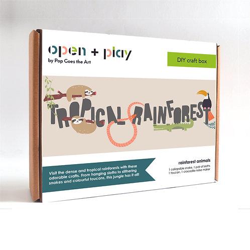 Tropical Rainforest | Craft Box