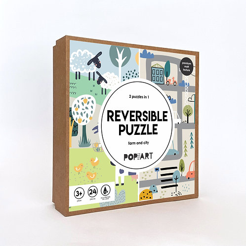Reversible Puzzle | Farm and City