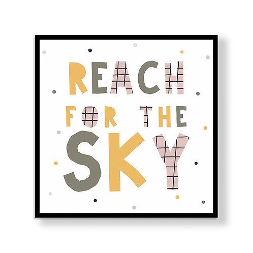 Wall Frame | Reach for the Sky