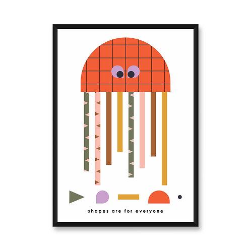 Wall Frame | Jellyfish
