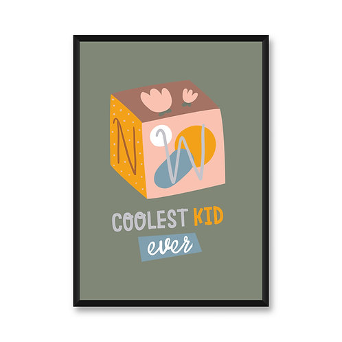 Wall Frame | Coolest Kid Ever