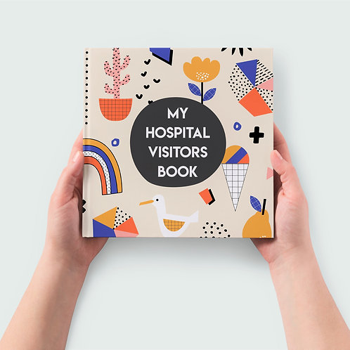 Record Book | My Hospital Visitors Book