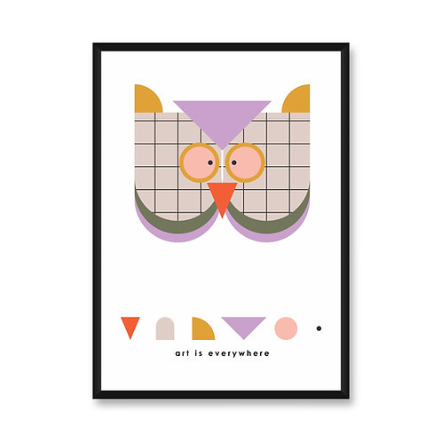 Wall Frame | Owl