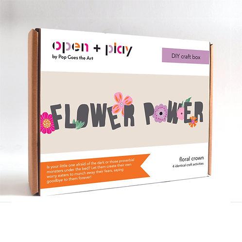 Playdate Craft Box | Flower Power