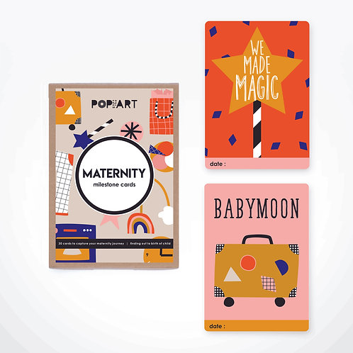 Milestone Cards | Maternity (box of 30 cards)