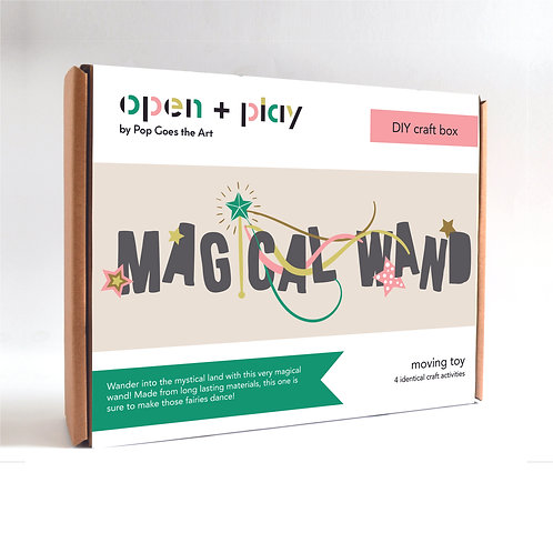 Playdate Craft Box | Magical Wands