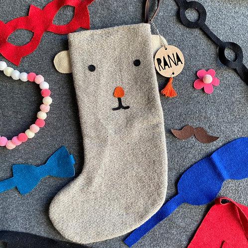 Dress Up Stocking | Polar Bear