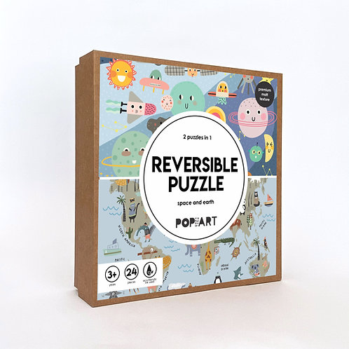 Reversible Puzzle | Space and Earth