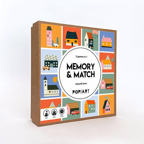 Memory & Match | Around Town