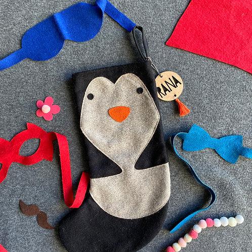 Dress Up Stocking   Penguin