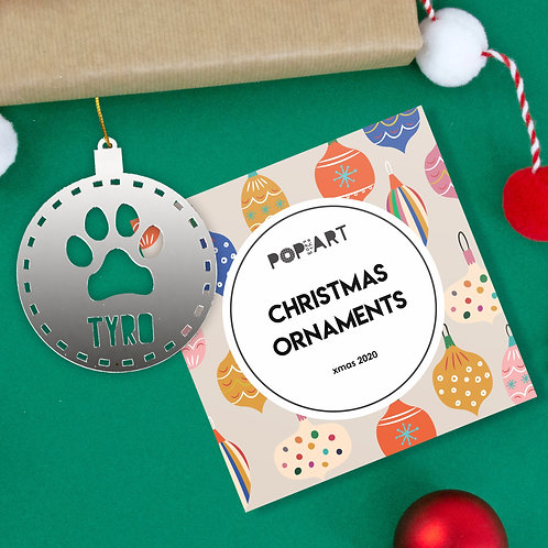 Christmas Ornaments | Paw