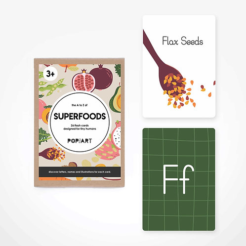 Flash Cards | Superfoods
