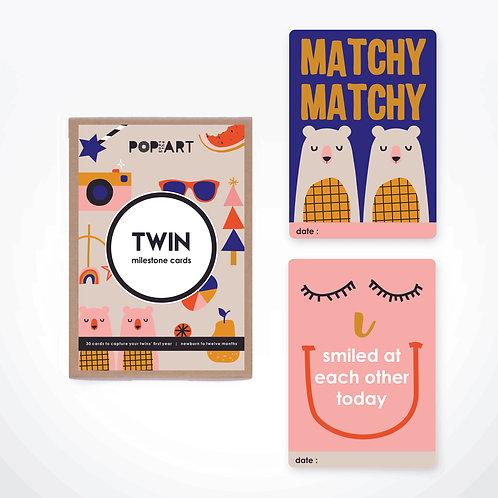 Milestone Cards | Twin