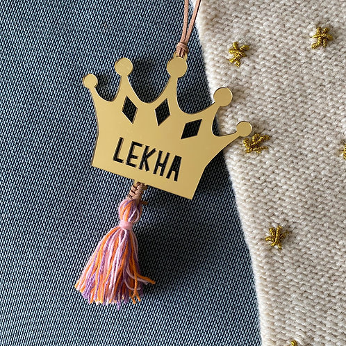 Christmas Ornaments | Tassel Crown