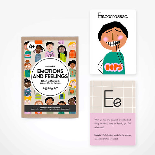 Flash & Fact Cards | Emotions and Feelings