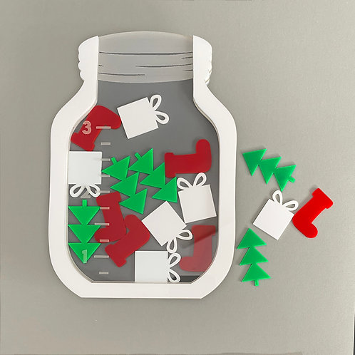 Reward Jar | Christmas
