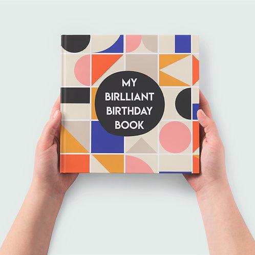 Record Book | My Brilliant Birthday Book