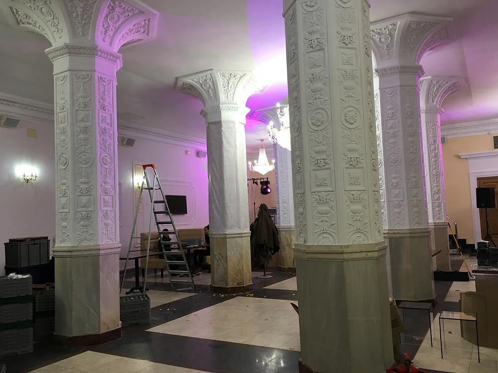 маскировка колонны