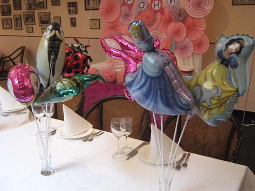 Фольгированные воздушные шары на палочке