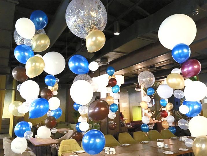 Лианы из воздушных шаров
