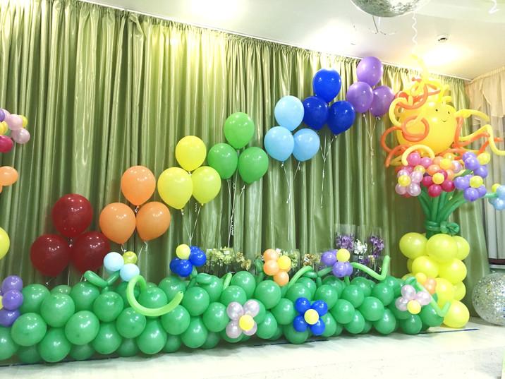 Украшение детского праздника