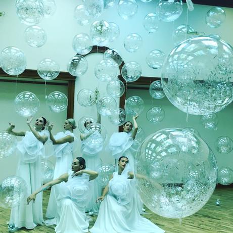"""Воздушные шары """"bubbles"""" на леске"""