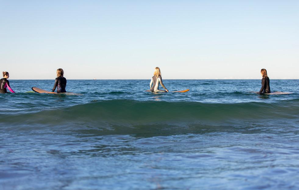 Women Surfing Blacksmiths