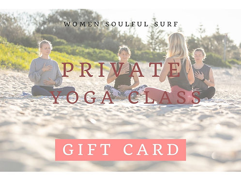 Gift Card - Private Yoga Class