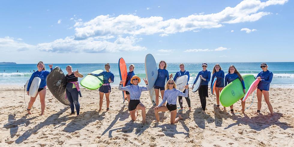 Ladies Beginner Surf Program - GROUP 2/SOLD OUT