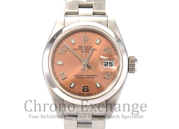 Rolex Date Ladies SS - K976