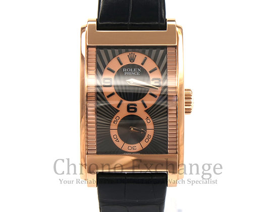 Pre Owned Rolex Cellini Prince Rose Gold