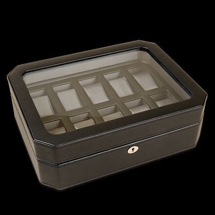 10 Piece Watch Box with Cover