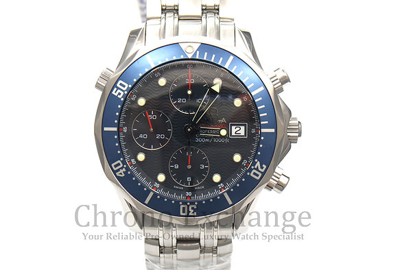 Pre Owned Omega Seamaster Bond Chrono