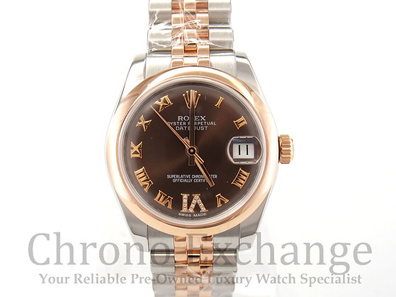 Pre Owned Rolex Datejust Mid Size