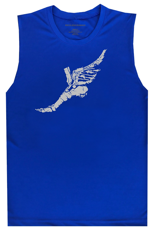 Men's Royal Graphic Performance Muscle Tank