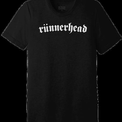 Men's 'RUNNERHEAD' in Black Triblend