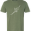 Thumbnail: Men's Triblend Tee in Army Green