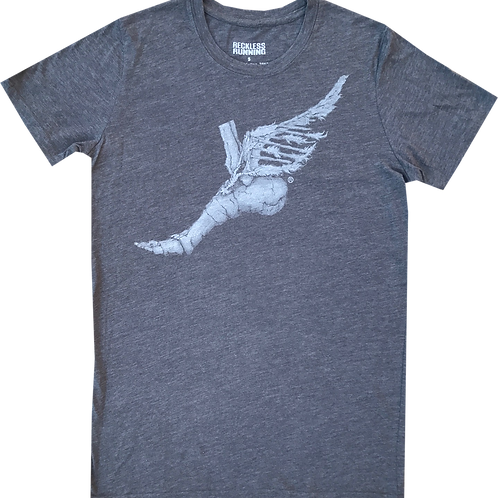 Men's Blended Tee in Charcoal
