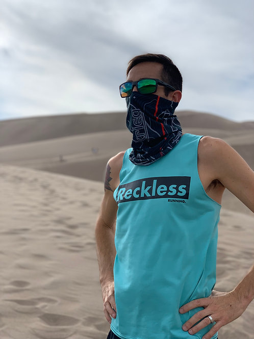 MEN'S 'BOLD AND RECKLESS' RACING SINGLET