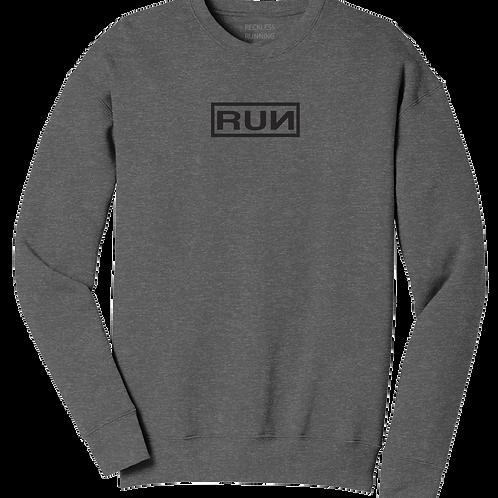 Unisex Fleece Crewneck Sweatshirt-RUN