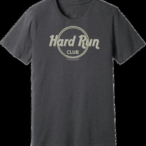 Men's 'HARD RUN' in Charcoal