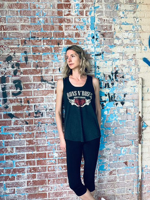 WOMEN'S 'RUNS N ROSES' TRIBLEND TANK